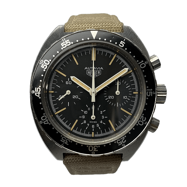 Luxury Watch - HEUER Autavia IDF Military